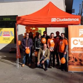 Ciudadanos (C's) celebra el Día de la Constitución en Valdepeñas y Ciudad Real