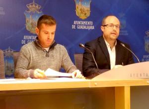 Ángel Bachiller y Alejandro Ruiz en rueda de prensa - 14.01.16