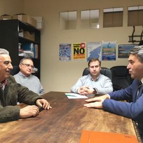 El Diputado en Cortes Ramón Molinary se reúne en Talavera de la Reina con la Comunidad de Regantes del Canal Bajo del Alberche.