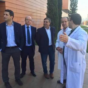 """El Diputado Provincial, Antonio López, ha asegurado en su visita a la Residencia Asistida San José que """"el centro es más que necesario""""."""