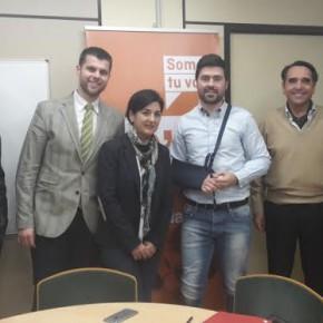 Ciudadanos (C´s) Albacete conoce de primera mano las necesidades de la Asociación de Jóvenes Empresarios de Albacete