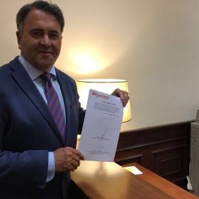 El Diputado en Cortes por Toledo Ramón-Luis Molinary, en la Sesión de Control exigirá al Gobierno en funciones, que actúe y defienda los derechos de los transportistas y mercancías españolas.