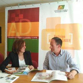 Yolanda Ramírez evalúa de forma positiva las iniciativas presentadas en el marco del programa Leader de ADAC, en materia de desarrollo empresarial
