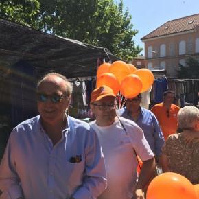 """Antonio Santolaya: """"Un 1% más de votos a Ciudadanos se traduce en 10 escaños más que cambian todo el panorama"""""""