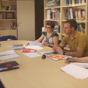 Ciudadanos comparte su programa social con Cáritas Albacete