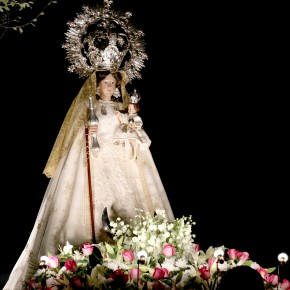 Representantes de C's en el Ayuntamiento y la Diputación de Guadalajara participan en la procesión de la Virgen de la Antigua
