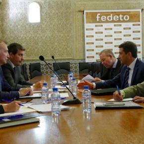 Miembros de Ciudadanos Toledo se reúnen con representantes de FEDETO