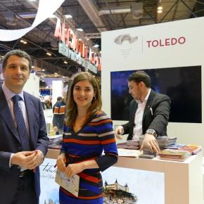 """Esteban Paños: """"FITUR es un magnífico escaparate para promocionar Toledo, pero también para aprender de otras ciudades"""""""