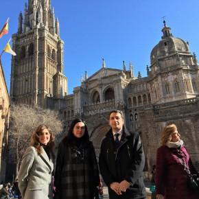 Los concejales de Ciudadanos en Toledo participan en los actos organizados con motivo de la celebración del día de San Ildefonso