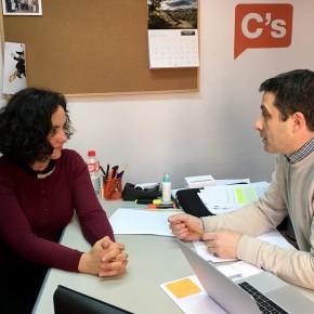 Esteban Paños se reúne con la presidenta de la Asociación de Guías Turísticos de Castilla- La Mancha
