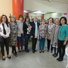 Francis Rubio, ha asistido a la inauguración del XVII encuentro de Encaje y Bordado de Albacete