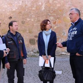 Cs Guadalajara visita Sacedón para conocer de primera mano la situación de Entrepeñas