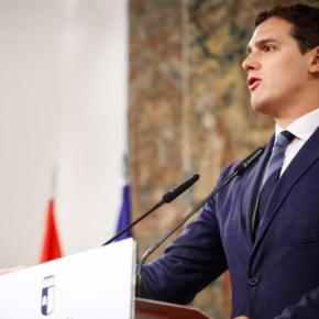 """Albert Rivera: """"Apoyaremos una reforma electoral que devuelva el sentido común al sistema electoral de Castilla-La Mancha"""""""