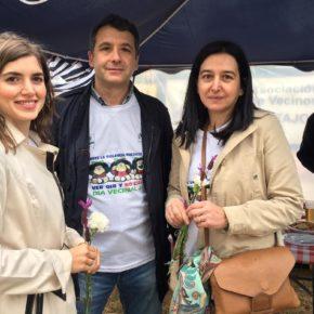 Los concejales de Ciudadanos participan en los actos organizados con motivo del XV Día del Vecino