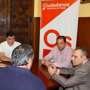 Ciudadanos se reúne con los representantes de los vigilantes de seguridad de la Junta de Comunidades