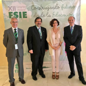 Orlena De Miguel asiste al XII Congreso Federal de FSIE en Toledo