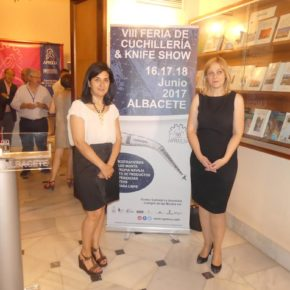 Carmen Picazo: 'La cuchillería representa para Albacete no solo un elemento de tradición, sino una industria con presente y futuro'