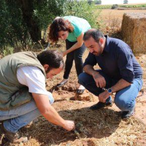 """Orlena De Miguel: """"Este es un claro ejemplo de lo importante que es la conjugación de la agricultura con la innovación para luchar contra problemas como la despoblación en el medio rural"""""""