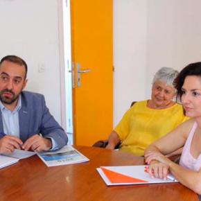 Orlena De Miguel se reúne con la Asociación Española Contra el Cáncer