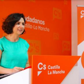 """Orlena De Miguel (Cs): """"Castilla-La Mancha es la tercera Región con mayor tasa de abandono escolar necesitamos soluciones, y ahí es donde García-Page puede contar con Cs, para hacerse fotos y anuncios que se busque otros socios"""""""
