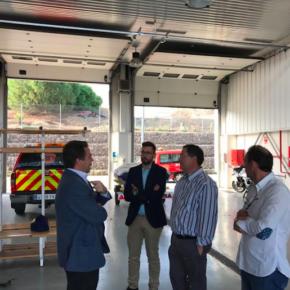 """Luis Martín (Cs): """"Debemos terminar de implantar los parques de bomberos que están en proceso para consolidar un servicio rápido y eficaz"""""""