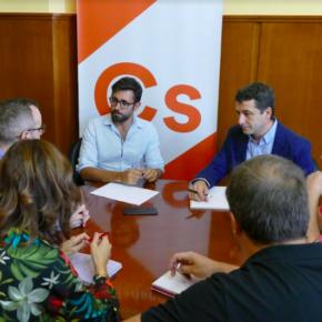 """Luis Martín (Cs): """"La línea de tren Madrid – Talavera es una arteria básica de comunicación y a la vez muy necesaria en nuestra Provincia"""""""