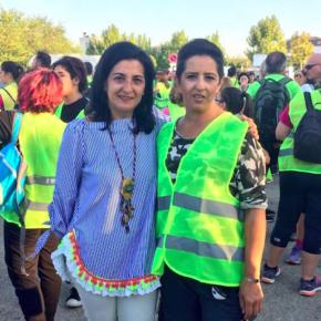 Francis Rubio ha participado en la V Marcha Nocturna: 'Andando por el Parkinson'