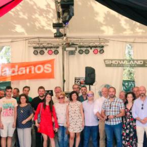 Orlena De Miguel, portavoz de Ciudadanos CLM, ha disfrutado de las fiestas de Talavera