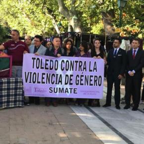 Cs Toledo, en la concentración mensual contra la violencia machista