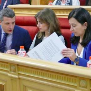 """Esteban Paños: """"Desde Ciudadanos reclamamos una bajada real de impuestos en Toledo y más incentivos para las nuevas empresas"""""""