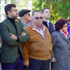 Cs Toledo, comprometido con la lucha contra la violencia machista, participa en la concentración mensual organizada por el Consejo Local de la Mujer
