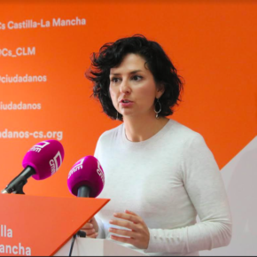 """Orlena De Miguel: """"En Cs estamos reclamando una gestión transparente de la sanidad castellanomanchega porque la sanidad es una de nuestras prioridades"""""""
