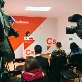 """Orlena De Miguel: """"Si para PSOE y Podemos la Educación y la Sanidad no son una prioridad, para Cs son el centro de nuestra acción política"""""""