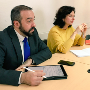 Ciudadanos (Cs) CLM se ha reunido con el Defensor del Paciente en Toledo