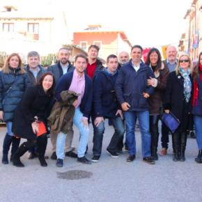 """Carlos Morales: """"Esta Feria de las Mercaderías es una muestra más del potencial turístico que tiene la Comarca de la Alcarria"""""""