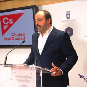 Ciudadanos presenta las tres mociones que defenderá en el Pleno del Ayuntamiento de Ciudad Real el próximo jueves