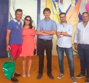 Ciudadanos Cuenca participa en la feria internacional del ajo de Las Pedroñeras