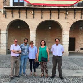 El grupo de Ciudadanos en la Diputación de Toledo considera que el parque comarcal de bomberos no se ubicará en Ocaña por 'dejadez del equipo municipal de gobierno del PP'