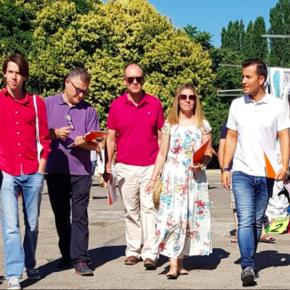 Ciudadanos recoge en el mercadillo las propuestas y reivindicaciones de los conquenses
