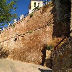 Cs advierte de que las filtraciones en el Jardín de los Poetas podrían generar desprendimientos como los de la Puerta de San Juan o la bajada a la Angustias