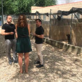 Ciudadanos visita el centro municipal de acogida de animales de Guadalajara