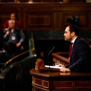 """Rodrigo Gómez (Cs): """"El Gobierno no tiene ninguna intención de que la A-40 conecte Cuenca con Teruel"""""""