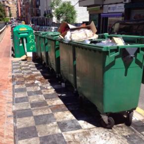 Cs pide al equipo de Gobierno que inste a la concesionaria del servicio de limpieza el arreglo de los contenedores soterrados