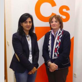 Ciudadanos apoya el trabajo de la Asociación de Amas de Casa, Consumidores y Usuarios APACCU-Los Llanos