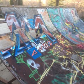 Ciudadanos solicita al equipo de Gobierno el arreglo de la pista de 'skate' del parque de Europa