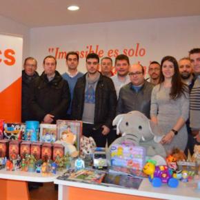 Jóvenes Cs C-LM organizan una recogida de juguetes y a alimentos en colaboración con Cruz Roja
