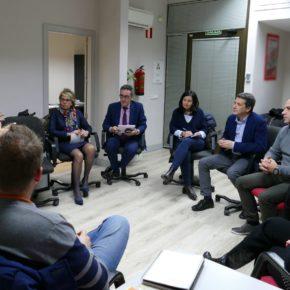 """Esteban Paños: """"Santa Teresa es el referente del comercio tradicional en Toledo y desde Ciudadanos apostamos por medidas para revitalizarlo"""""""