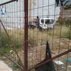 Cs insiste en forzar la limpieza de los solares abandonados para mejorar la imagen de degradación de muchos barrios