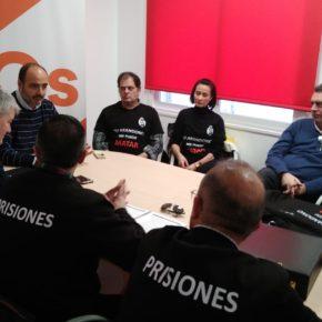 Cs Ciudad Real se reúne con el Sindicato de funcionarios de prisiones