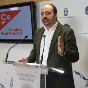 El grupo municipal de Cs en Ciudad Real anuncia su voto en contra de los presupuestos municipales